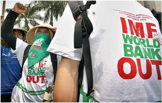 Protest gegen IWF-WB, Archivbild 2006